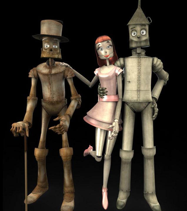 Zinc characters